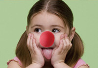clown nose - RED Foam Circus Clown Nose Party Sponge Ball Red Clown Magic Nose for Halloween Masquerade Ball supplies Sponge Comic Party Christmas M10