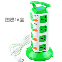 Wholesale National shipping more than independent four super switch wiring board plug strip strip drag strip power outlet