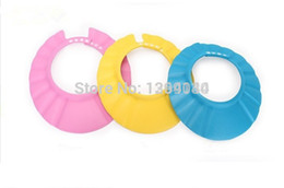 Wholesale 5pcs your baby or toddler s eyes bath product New Hot Selling Baby Shower wash hair Shield Hat cap Protects