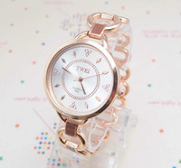 Wholesale christmas gift holiday sale New Arrival Rose Gold plated Watch women ladies New Fashion wrist watch TW61342