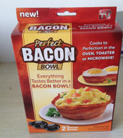 Wholesale Perfect Bacon Bowl easy way to make delicious edible bacon kitchen tool Cake abrasives