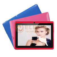 Wholesale cheap inch android boxchip allwinner a13 mid firmware GHZ M G Capacitive Screen Q88 q8 tab tablet pc