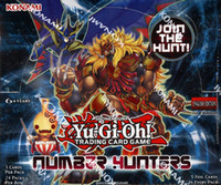 Wholesale Original Real YuGiOh Number Hunters Booster Set st Edition New and Sealed Box Yu Gi Oh NUMH Euro English Ver