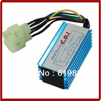 Cheap Promotion Performance 6 pin Racing CDI Box +Ignition Coil For GY6 Scooter Moped 50CC 150CC + Drop Shipping