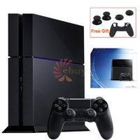 Cheap HK Brand for Sony PlayStation 4 PS4 Console Hosting PS4 Game, 500G standard Host, Jet Black drop shipping