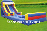 Wholesale Inflatable Slide with Water Pool