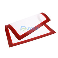 Cheap 30x 40cm Silicone Pastry Bakeware Baking Tray Oven Rolling Kitchen Mat Sheet#57599