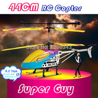 Cheap Top quality!! 44CM Crash Withstand 3.5 Channel Remote Control Heli Build in Gyroscope RTF Big RC Helicopter