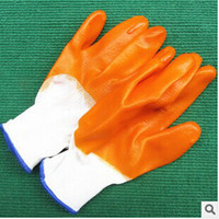 Wholesale New arrive pairs oil resistant slip resistant Nylon Nitrile coated Working protective Gloves safety latex gloves