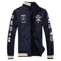 2014 fashion brand long sleeve men jacket coat Full Zipper E...