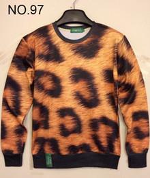 2014 new print mens hoodies Sweaters loves 3D Sweatshirt women's Sweatshirts men's T Shirt women's t shirts Leopard