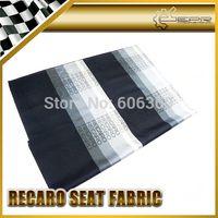 Wholesale Graduation Color Recaro Car Seat Fabric Cover Cloth For Racing Car Seat cm x cm JDM GTR GTS RALLY DRIFT