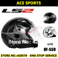 Wholesale Motorcycle Helmet Open Face Dirt Bike Capacete jet Helmets Sports Racing Casco LS2 OF559