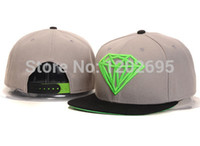 Wholesale Diamond Hat Snapback Caps Women Snap back Men Baseball Caps Sports Cap Fashion Brand Hip Hop Caps