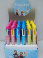 Wholesale New Student Gift Cartoon Frozen children stationery Ballpoint pen students Gifts Colors