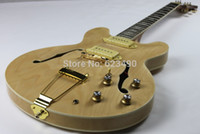 Wholesale Best Price Natural Casino Jazz Hollow Body Electric Guitar In Stock