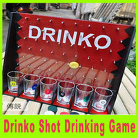 Wholesale 2014 New Selling product Popular Drinking Game Gadget for Home Bar Drinko Shot drinking game and Fun Lucky Shot Adult Game A305X