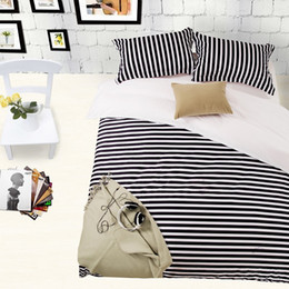 Home Textile,Black white space Fringe style bedding sets,King Queen Full size Duvet cover Bed sheet Pillowcase,Free shipping