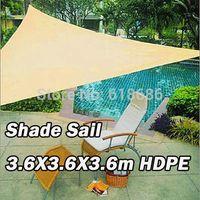 Wholesale UV Triangle Sun Shade HDPE Net m X m X3 m Combination sun shade sail
