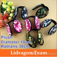 Wholesale New Camouflage Warm Plush Earmuff Winter Cold Ear Cover Hats Caps Cycling Running Walking Accessories Ear Muffs