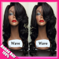 Wholesale unprocessed virgin Brazilian Human Hair Body Wave Glueless Full Lace Full lace Wig cheap Lace front Wig baby hair