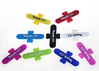 Touch U Silicone Mobile phone Stand Holder Portable Cell pho...