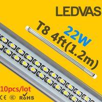 Wholesale LEDVAS W T8 LED Tube SMD led Light Lamp Bulb mm m Ft AC85 V Lights Led Lighting Year Warranty