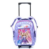 Cheap Happy little princess Amoy shop pupils not removable trolley bag book bag 331 ZBB