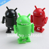 Finished Goods android mini collectible - set Google Android Robot Mini Collectible Serise Android Action Figure Google Robot Toy