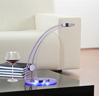 Upscale elegance solar lamp \ acrylic led creative lamp \ ey...