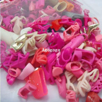Wholesale 38 Pairs new fashion mixed Style different mixed Shoes Boot For Barbie Doll
