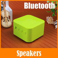 best laptop speakers for music - Cube Music Box Wireless Bluetooth Mini Small Speakers For iPad iPhone Samsung Htc Laptop MP3 MP4 Best Universal Portable Stereo Speaker