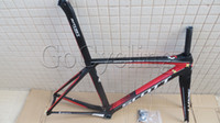 Wholesale SCOTT foil carbon fiber road bike frame carbon bicycle frames multi color and size available