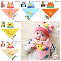 baby bee costumes - Newborn Baby bee hat baby Bibs piece Set Fashion bee style Baby Costume NWT Bibs cap hat color Melee