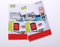 Wholesale Android phone GB Class Micro SD card microSDXC microSDHCroSDHC GB Micro SDXC microSD micro SDHC UHS UHS I U1 Card Adapter200PCS