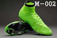 Wholesale Soccer Shoes Real Carton Fiber Football Shoes FG ACC Soccer Cleats Cheap Football Boots Outdoor Ball Sports Shoes Hi Cut Athletics