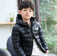 Wholesale Winter children s clothing new style children fashion handsome down jacket boys hooded down coat kids s outwear boy s clothes
