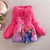 New Winter Frozen Childrens Down Coat Thickening Jirong Kids...
