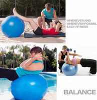 yoga ball exercise ball - cm pilates cm Yoga Ball Health Balance exercise Trainer Pilates bosu Fitness Gym Home Exercise Sport fitball