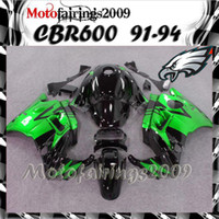 Cheap green for honda CBR600 F2 91 92 93 94 91-94 Years ABS Plastic Bodywork Set CBR600F2 CBR 600F2 600 F2 91 94 1991 1992 1993 1994 Fairing Body