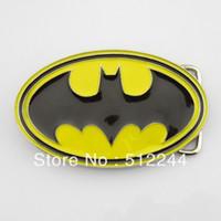 batman yellow belt - Only belt buckle New Western Superhero Dc Comics Batman Black Yellow Classic Men s Metal Belt Buckle