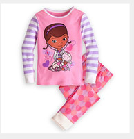 "Cheap new 2013 ""Caluby"" Boys Girls autumn -summer Lycra Pajamas Children Clothing sets girls dream Pyjamas X-035"