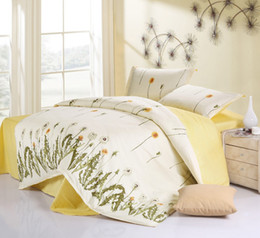 Eternal love 4Pcs of bedding set luxury,Include Duvet Cover Bed sheet Pillowcase,100%Cotton,King Size,Free shipping