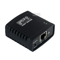 Cheap USB 2.0 LPR Print Server Hub Adapter Printer Networking Ethernet Sharer UNS01H-H23