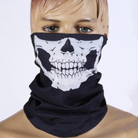 Wholesale High quality fashion army motorcycle bicycle bicycle ski pirate counter strike skull skeleton headwear hat scarf half face mask