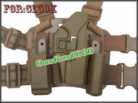 Cheap Wholesale-CQC Glock 17 Tactical Holster Platform TAN free shipping