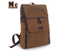 Wholesale Moore Carden casual sport men canvas backpack student school bag travel duffle bags for inch laptop