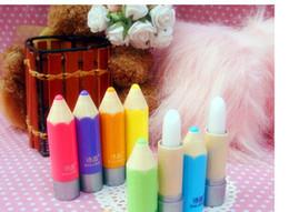 Wholesale Crayon Moisturizing Lip Balm Super lovely colour Pen Gift Present for Kids gitf High Quality