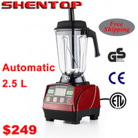 Cheap Wholesale-Shentop blender Juicer mixer Ice blender extractor bubble tea machine bubble tea blender 100% guaranteed Free Shipping STS-888
