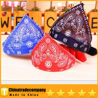 Wholesale 2014 Dog Collars Pattern Pet Sling High Quality PU Pet Triangular Bandage Pet Scarf Scarf The Dog Dog Scarf Collar CM Is On Sale